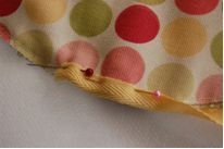 Easter Egg Golf Towel Sewing