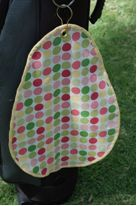 Easter Egg Golf Towel