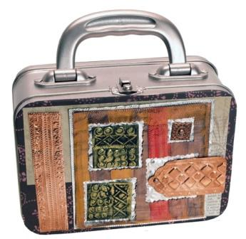 Embossed Metal Lunchbox