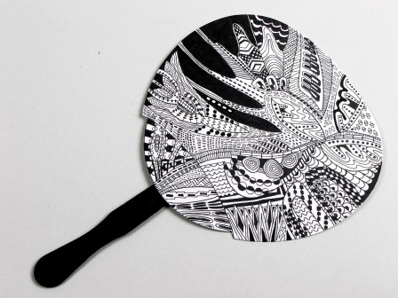 Zentangle Fan