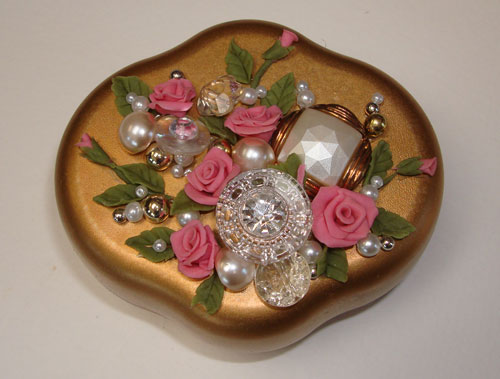 Bread Dough Jewelry Box