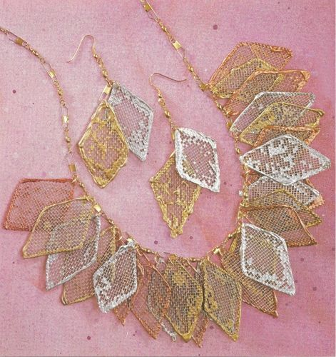 Window Screen Jewelry