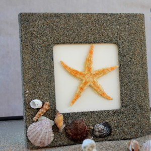 Simple Sandy Beach Frame