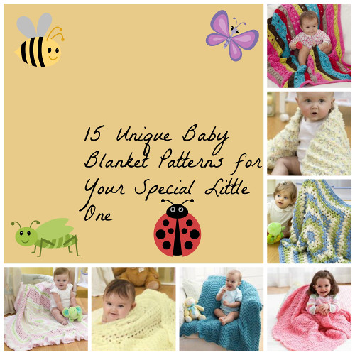 Unique Baby Blanket Patterns for Your Special Little One