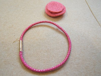 Hair Elastic and Felt