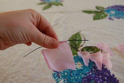 Crepe Paper Rose