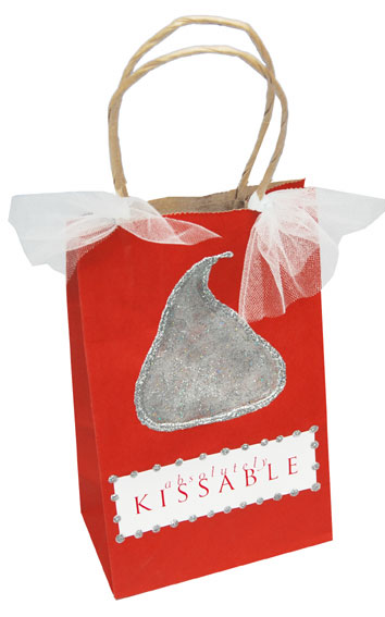 Valentine's Day Kiss Gift Bag