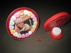 Valentine Plastic Lid Photo Frame