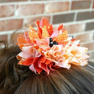 Charming Hair Flower