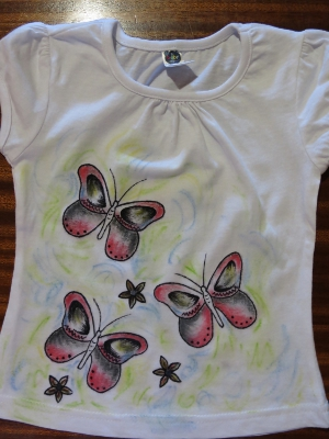 Dancing Butterflies Tee Shirt