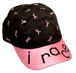 Pink Ribbon Breast Cancer Research Hat