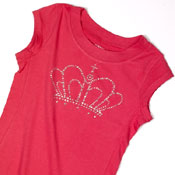 crystal crown tee shirt
