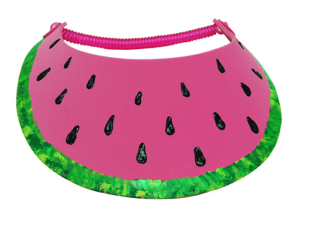 Watermelon Slice Summer Visor