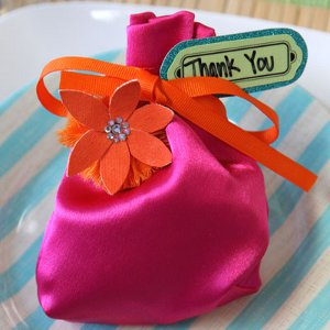 Bright and Bountiful Wedding Gift Bag