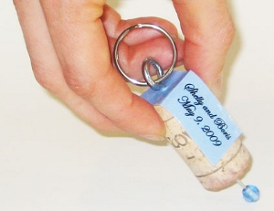 Quirky Cork Wedding Favor