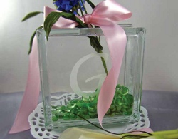 Sentimental Glass Centerpiece
