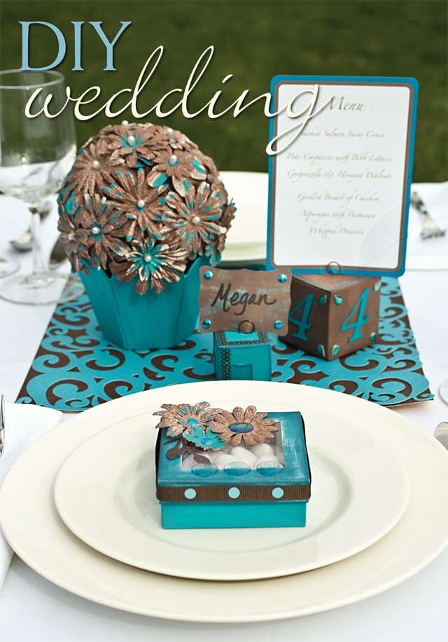 Wonderful Brown and Turquoise Wedding Decorations 640 x 918 · 381 kB · jpeg