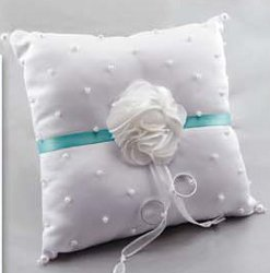 Flower Frill Wedding: Ring Bearer Pillow