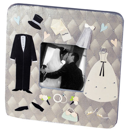 Wedding Attire Picture Frame
