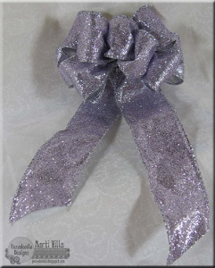 Wire Ribbon Flower Bow