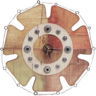 Gears Cottage Clock
