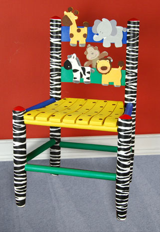Jungle Animal Child's Chair