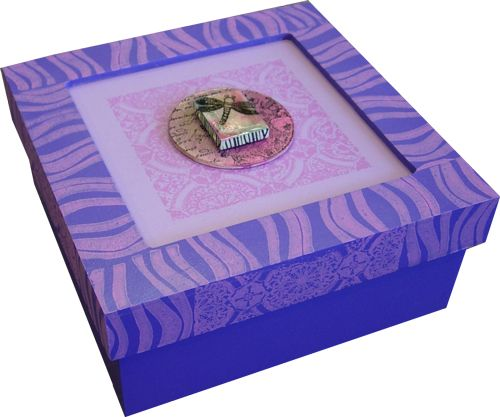 Paint and Stamp Treasure Box
