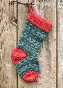 Fireplace Christmas Stocking