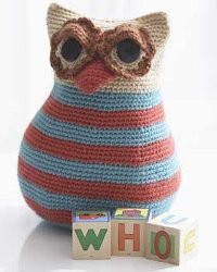 Crochet Owl Toy