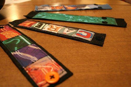 Custom Photo Cuff Bracelets