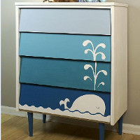 How to Paint Furniture: 19 Upcycled Furniture Projects free eBook from DecoArt