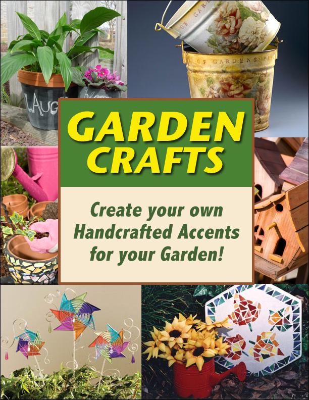 FREE Garden Craft Ideas eBook.