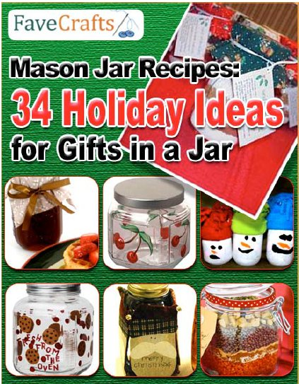 34 Holiday Ideas for Gifts in a Jar