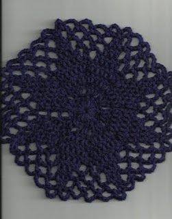 Elegant Crochet Doily