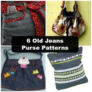 What to Do With Old Jeans: Old-Jean Purse Patterns
