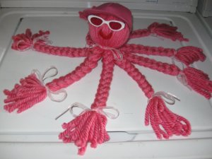 Kid's Yarn Octopus