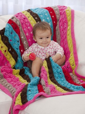 Patterns with AllFreeKnitting: Knitting for Baby: 6 Knit Baby Blankets