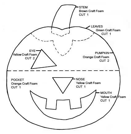 Halloween Pumpkin Treat Holder Favecrafts Com