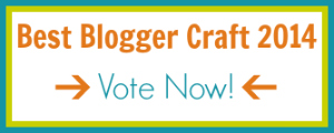 Cast your vote for the Best Blogger Craft 2014!