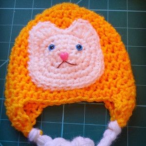 Crochet Cat Overload Hat