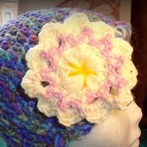 Summer Romance Crochet Flower