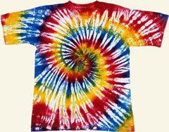 cool tie dye patterns instructions