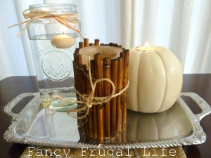 Frugal and Fancy Vintage Centerpiece